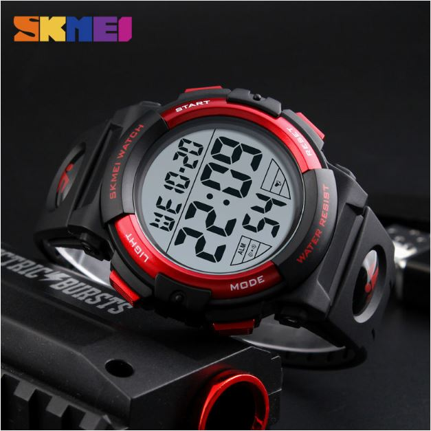 0a914c3ee25 Relógio esportivo digital masculino SKMEI 1258